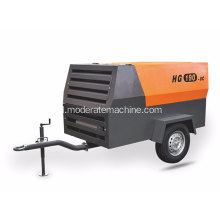 Mimi Diesel Movable Screw Air Compressor
