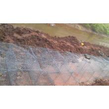 Rock Cage Retain Wall Texture / Gabion / Reno Matelas