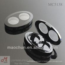 MC5138 Palette de maquillage en plastique plastique, ombre à paupières, palette d'oeil