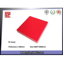 Reusable and Colorful PP Plastic Sheet