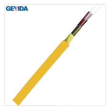 Cable de fibra óptica de distribución interior de 12 núcleos con PVC