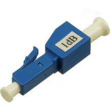 Atenuador de fibra ótica plugin, atenuador de fibra lc 10db 15db / atenuador de rede lc upc