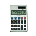 Electronic Mini Pocket Solar Power 12 chiffres Calculatrice