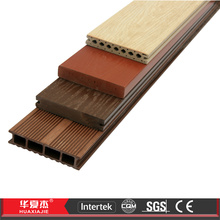 Moisture proof Solid WPC Decking Tiles with Co-extrusion Process