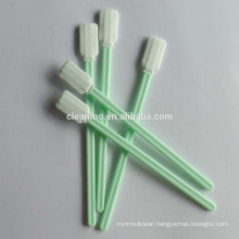 Hot selling Cleanroom double layer microfiber industrial cleaning Swabs CM-PS713M for lens /PCB/hard disk driver cleaning