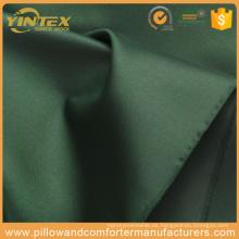Tela tejida de algodón verde al por mayor