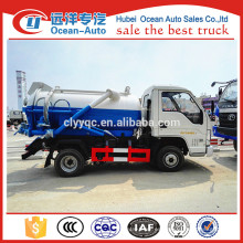 FOTON Mini camión de drenaje de aguas residuales Camión de aguas residuales
