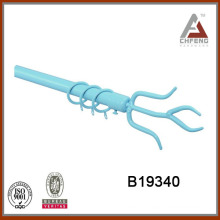B19340 home decor fancy curtain rod finials,double single rail curtain rod accessories