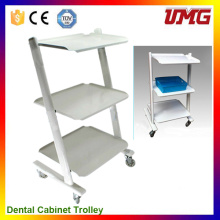 Herramientas del dentista Dental Office Cabinets with Trolley Wheel