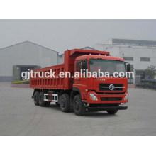 Dongfeng 8X4 drive dump truck para 20-30 metros cúbicos