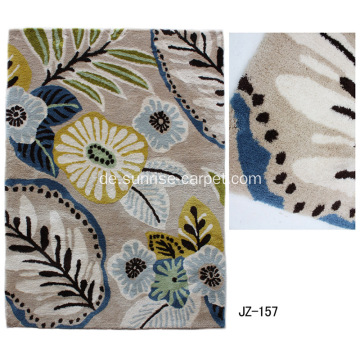Thin Microfiber Teppich / Teppich mit Beauty Design