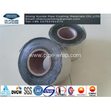 Wateproof Membranes Aluminum Asphalt Wrap Tape For Overhead Pipe