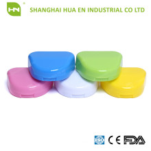 TOP QUALITY OF Plastic retainer denture box for Dental