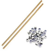 DIN975Threaded Rods Brass Copper Stud Bolt OEM Length