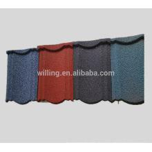Кровельная плитка для дома с покрытием из камня