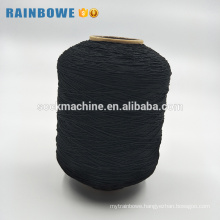 90#/100#/110#simple color elastic spandex rubber covered polyester yarn
