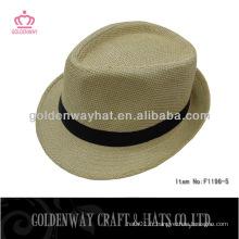 Chapeaux de paille bon marché pour un chapeau fedora pour gros
