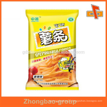 High quality printed snacks/liquid heat sealed foil packaging wholesale
