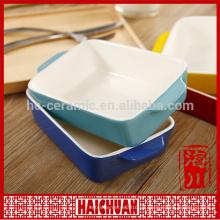 Keramik Bakeware Pet Bowl Blumentopf Geschirr-Griff Tasse