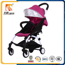 PU Wheels Baby Stroller with Car Seat and Carrycot