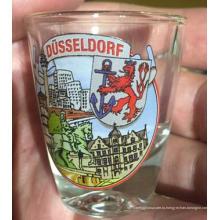 Прозрачный стеклянный стакан воды Кубок Хорошая цена Стеклянная посуда Kb-Hn07826