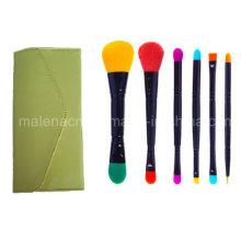 6PCS Dual Ends Cosmetic Brush Makeup Tools
