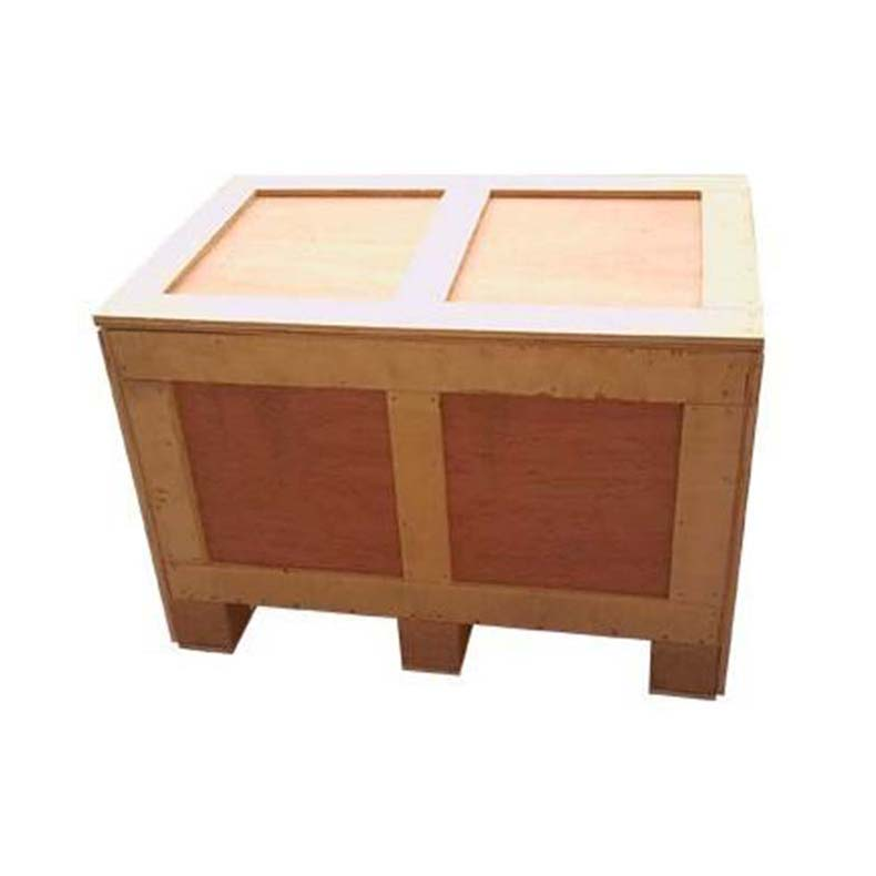 Small logistics wooden box