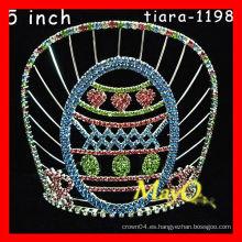 Corona grande del desfile del rhinestone del adulto para la venta
