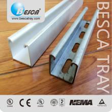 41 * 41 mm Unistrut tipo Metal puntal canal proveedor Fabricación certificaciones