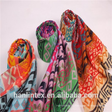 T 60*60 80*74 spun polyester grey voile fabric for scarf shuttle weaving