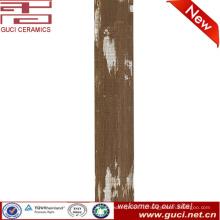 150x800 Деревянный пол керамической плиткой в Дубае струйная 3D-застекленная плитка пола