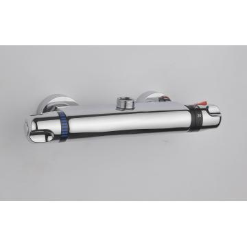 Torneira termostática do misturador do chuveiro, misturador termostático de bronze do chuveiro