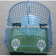 Cage à hameçon métallique
