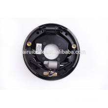 Complete 10''x2-1/4'' hydraulic uni-servo brake assembly for trailer