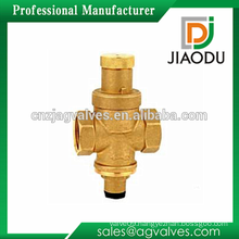1/2 inch 3/4 inch 1 inch use for water from high pressure to low pressure brass color nickel plated brass pressure reduce valve