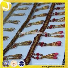women dresses costume beaded tassel fringe in stock