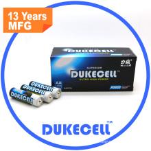 Non-Rechargeable AA Lr6 Am3 Alkaline Battery