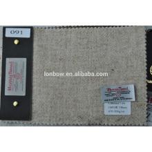 tecido de tweed pesado
