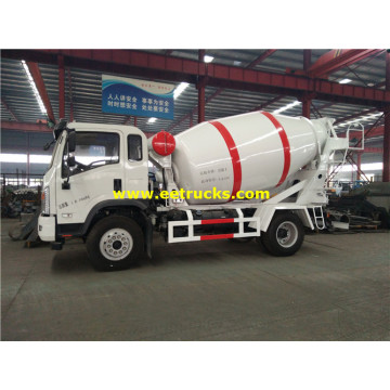 Dayun 6000L Beton Delivery Camionetas