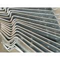 Pièce extérieure d'escalier galvanisée par IMMERSION chaude d'OEM pour l'usage de bâtiment