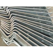 Peça externa galvanizada do Stairway do MERGULHO quente do OEM para o uso de construção