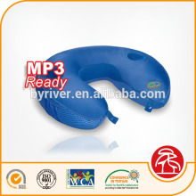 Travesseiro de música massagem vibratório conectar MP3/Iphone