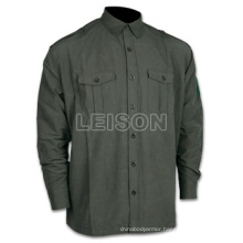 Military Shirt with Superior Quality Cotton/Polyester