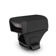 Cincin Finger Portable Bluetooth 1D / 2D Barcode Scanner