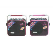 Портативная Вагонетка мини-динамик 6,5 дюйма с FM-радио F83 се