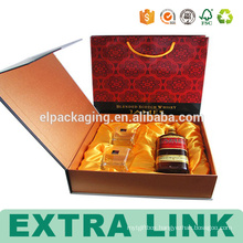 High Quality Wine Paper Gift Cardboard Glass Boxes Corrugated With Handle