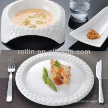 water cube series fine chinese porcelain&ceramic dinner set,dinnerware,plates set
