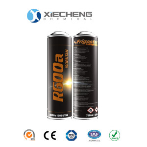 high purity Refrigerant R600A small cans