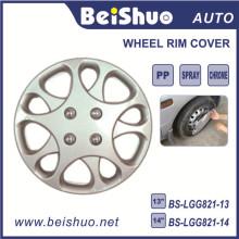 Silver Hub Caps Couverture de la peau pour roue ABS OEM