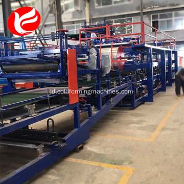 EPS panel sandwich mesin / panel sandwich lini produksi